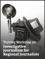 TISL completes first Investigative Journalism training for 2009