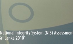 TISL releases National Integrity System Assessment 2010