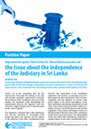 Position Paper: Impeachment against Chief Justice Dr. Shirani Bandaranayake and the Issue about the independence of the Judiciary in Sri Lanka