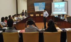 Youth with innovative anti-corruption ideas given a training