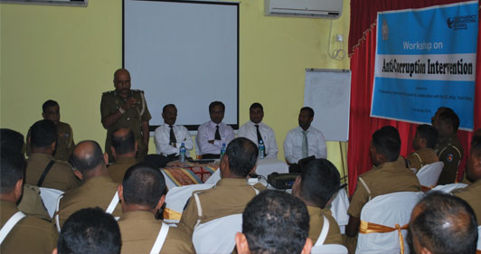 Shelter for Integrity Conducted a Training Workshop for Police Officials