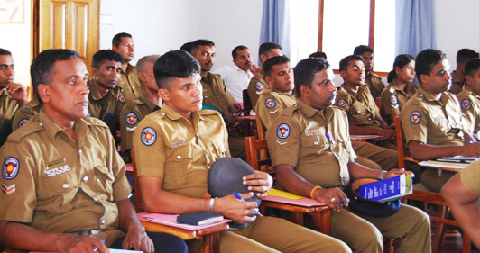 Anti- Corruption Training for Police Officers in Mullaitivu and Kilinochchi