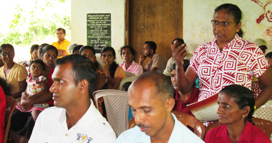 Citizens Meets Pradeshiya Sabha Members through TISL Intervention