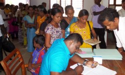 TISL held Legal Clinic in Battcaloa