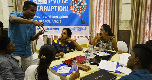 New Media Training for Youth to expose and minimize Corruption