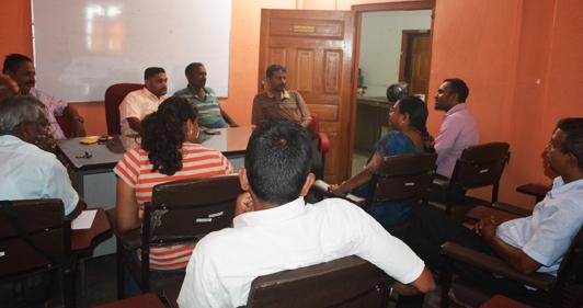 TISL meets with The Vavuniya Trade Chamber