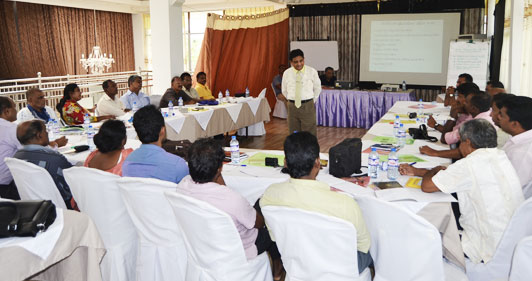 TISL Conducts Training on Election Reporting